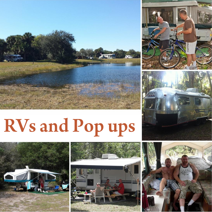 RVs and Pop ups